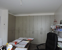 Menuiserie Gruet - Thoires - Fabrication de rangements dans bureau