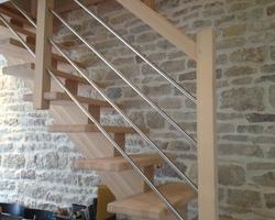 Menuiserie Gruet - Châtillon-sur-Seine - Escaliers