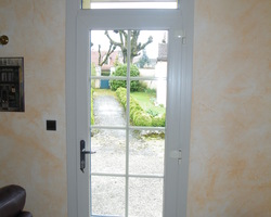 Menuiserie Gruet - Belan-sur-Ource - Porte d'entrée PVC 1 vantail