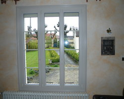 Menuiserie Gruet - Belan-sur-Ource - Fenêtre PVC 3 vantaux
