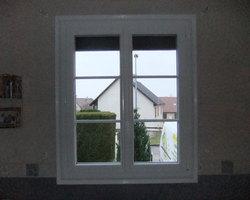 Menuiserie Gruet - Châtillon-sur-Seine - Fenêtre PVC avec petits bois