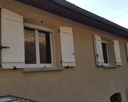 Menuiserie Gruet - Aignay-le-Duc - Fenêtres PVC et volets battants aluminium