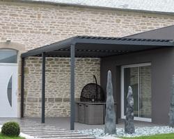 Menuiserie Gruet - Châtillon-sur-Seine - Pergola aluminium
