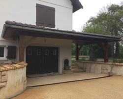 Menuiserie Gruet - Châtillon-sur-Seine - Avancée de toit appentis