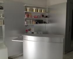 Menuiserie Gruet - Châtillon-sur-Seine - Agencement Commerce : fabrication d'un meuble de rangement
