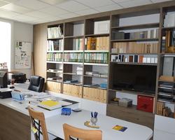 Menuiserie Gruet - Châtillon-sur-Seine - Agencement d'un bureau