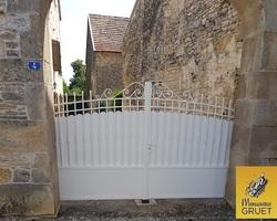 Menuiserie Gruet - AMPILLY-LE-SEC - PORTAIL ET CLÔTURE