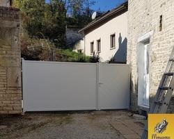 Menuiserie Gruet - PLAINES SAINT LANGE - PORTAIL ET CLÔTURE