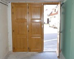 Menuiserie Gruet - CHATILLON-SUR-SEINE - PORTE D'ENTREE ET PORTE DE GARAGE
